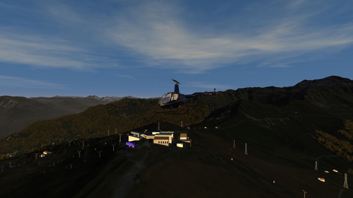 Alpine scenery Croix de Coeurs *** available now on flight-sim.org ***