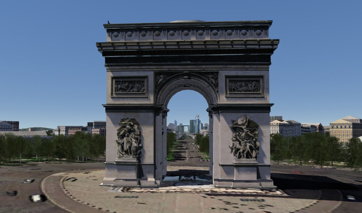Paris - Arc in Arc