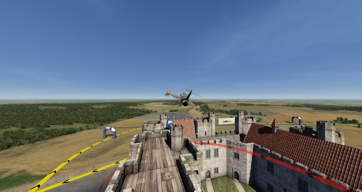 new F104 in new Landscape 4D