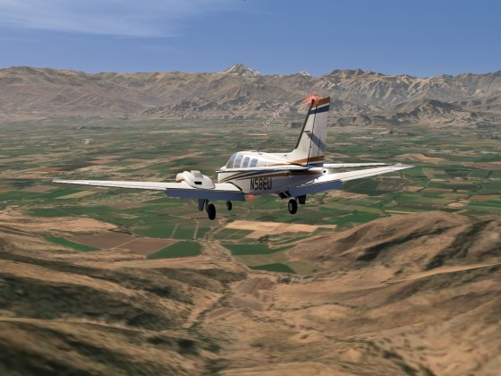 Approach San Rafael-SCAN, Los Andes, Chile