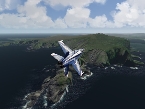 Shetland Islands - now with Elevation Mesh