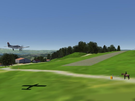 Airfield LSPK Hasenstrick (airfield) *** available now on flight-sim.org ***