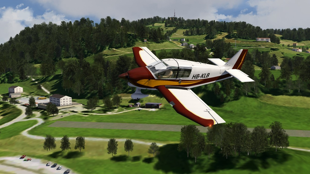 Hasenstrick airfield_Nth Switserland+Robin DR400