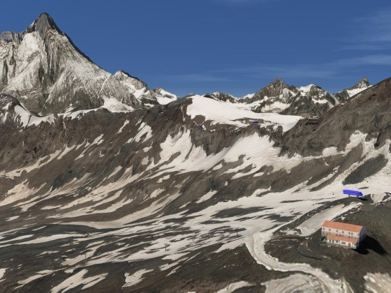 ​Some impressions of the ski area of Zermatt