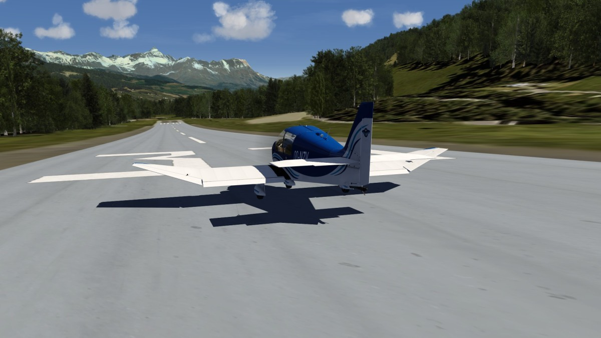 DR over French alps 1