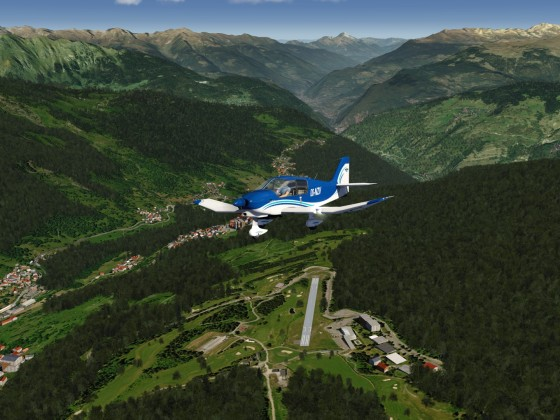 DR over French Alps 4