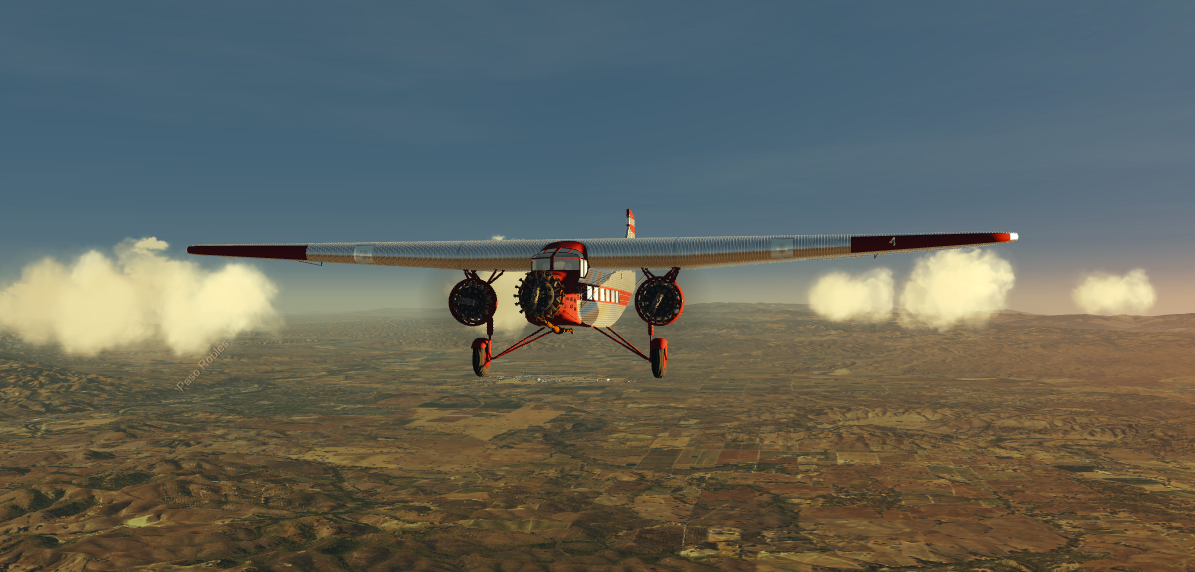 Ford Tri Motor......Hand fly only