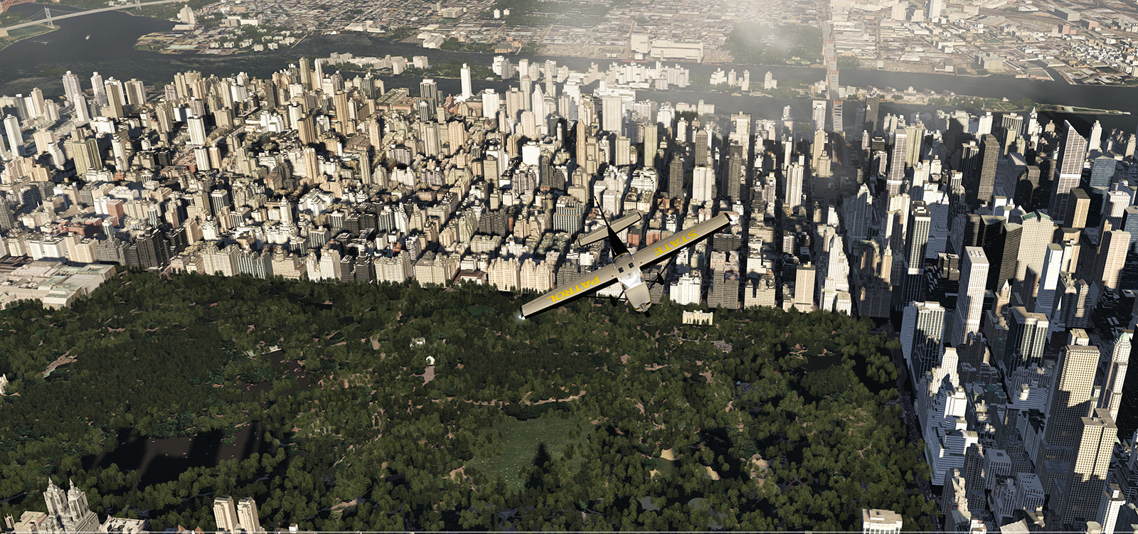 State Patrol over NYC