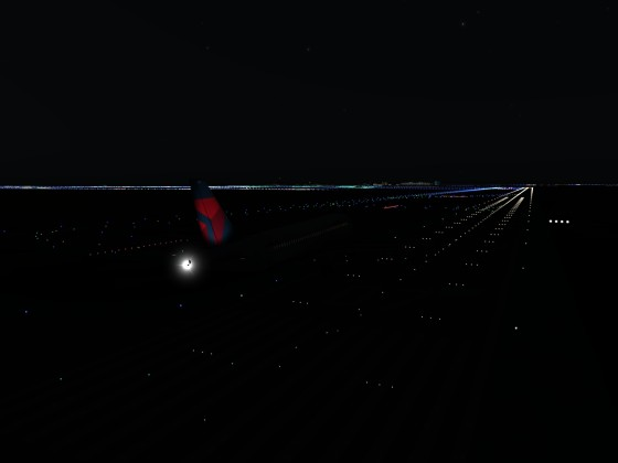 Night Landing at Denver