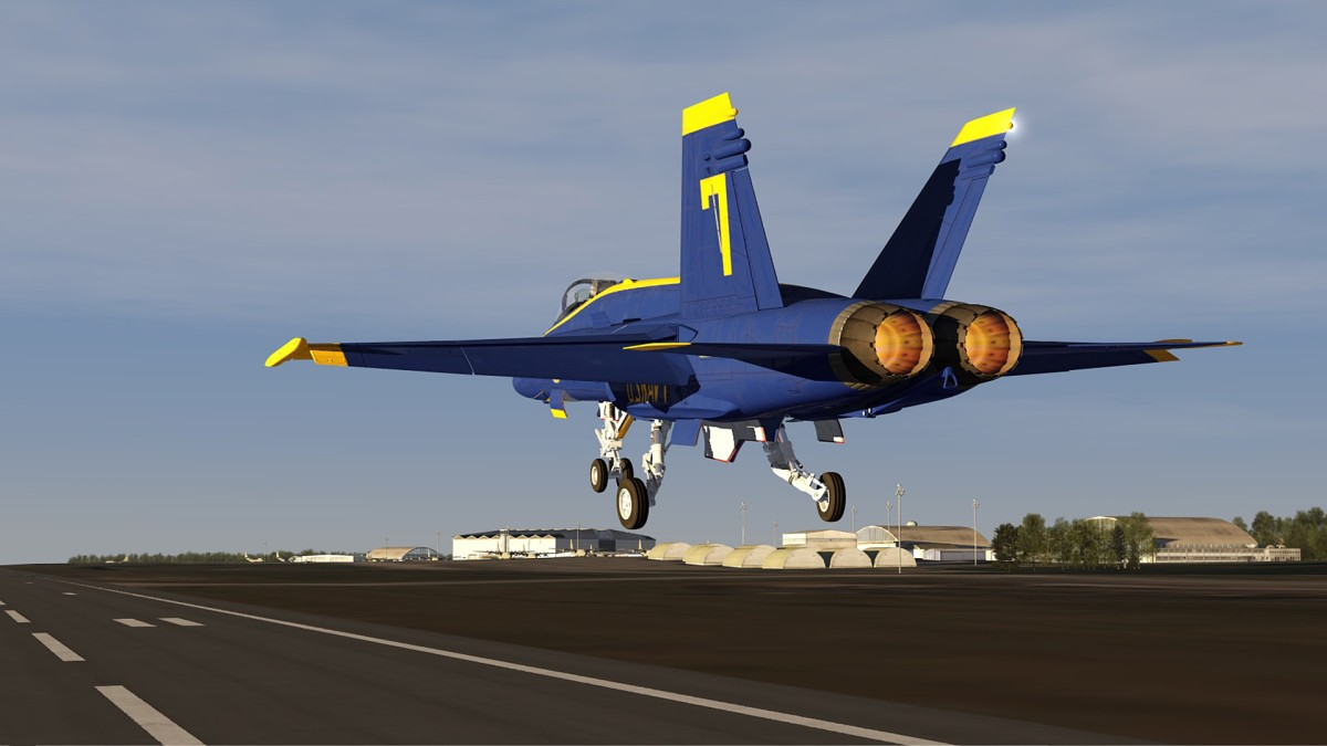Hulburt AB-East of Pensacola+F18-Blue Angels