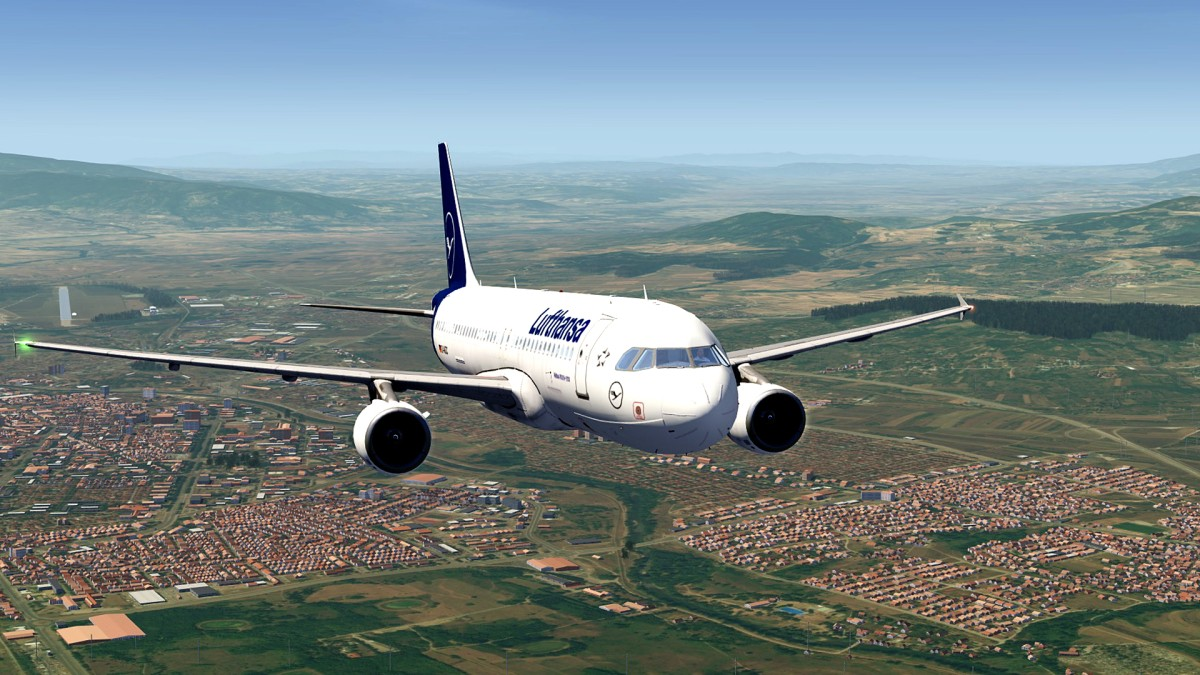 City of Nis-Serbia+A320