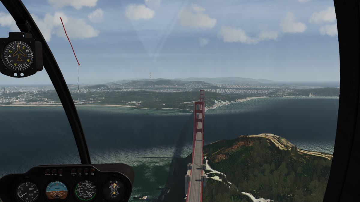 Over Golden Gate