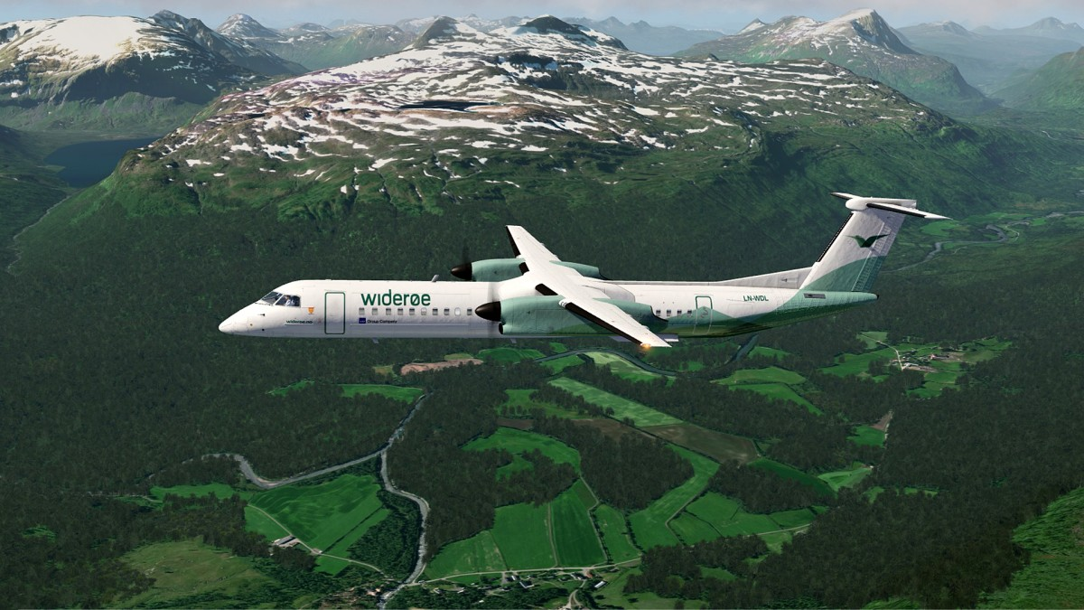 Bardufoss-Norway+Q400 Wideroe_3
