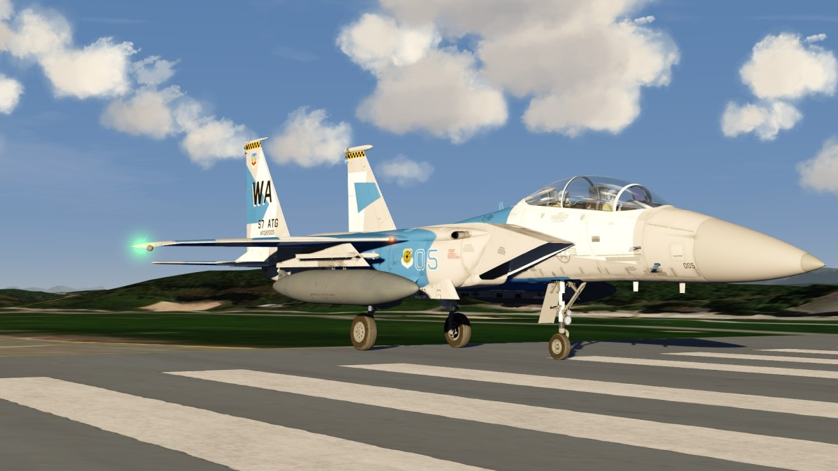 F15E Blue Tone Aggressor Colours