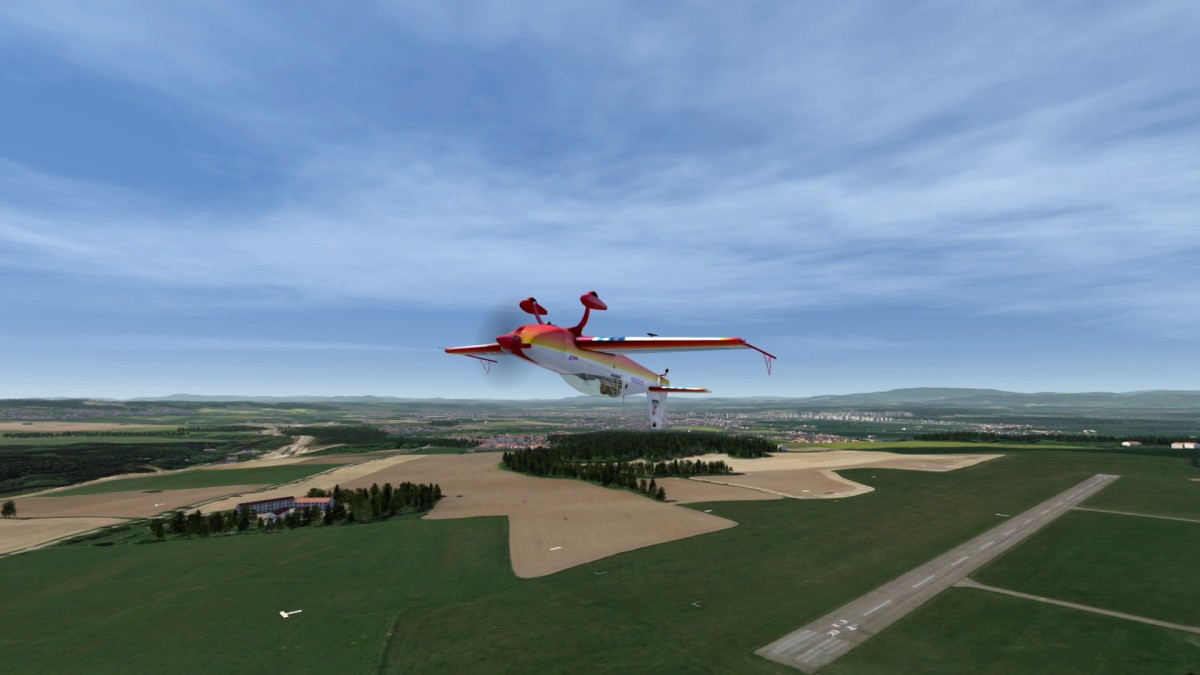 Czech Republic - Hosin - Virtual World Championship (LKHS) Extra 330 LX ''flightxtreme​''