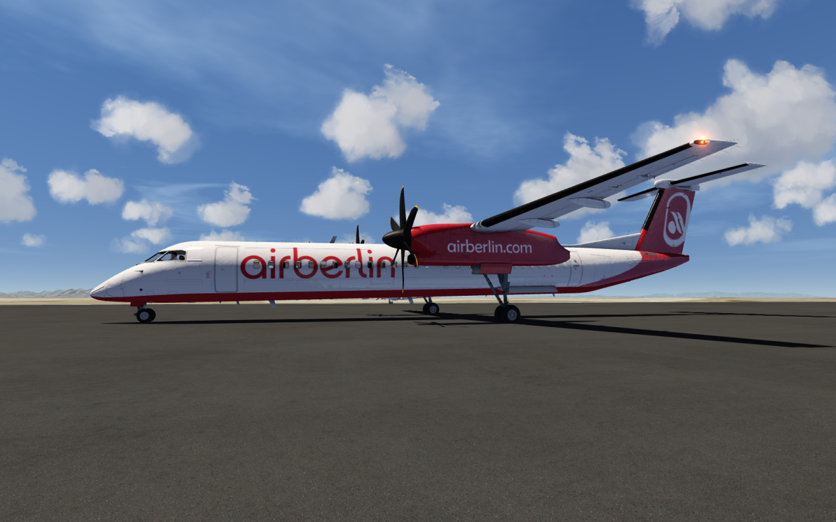 Did someone say Air Berlin Q400?