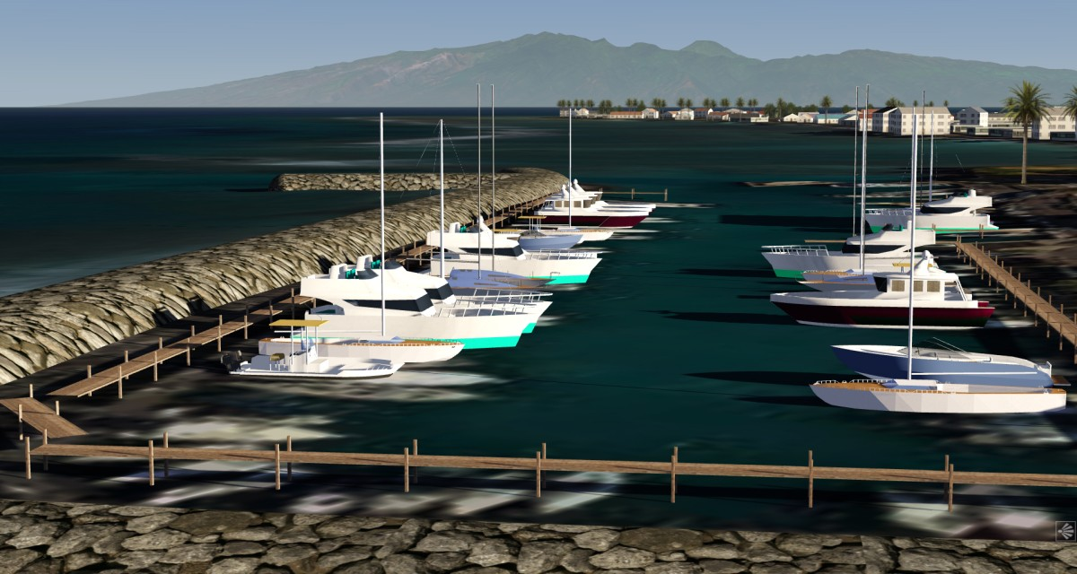 Harbor of Lahaina/Maui - Preview