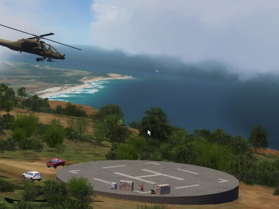 AH64A test flight: Island of Kauai, Hawaii