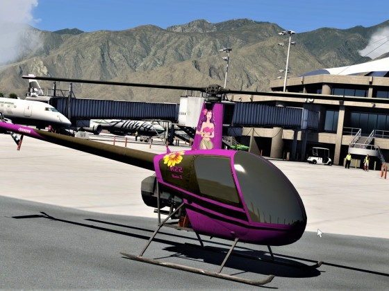 "R22 Static ""Hula girl"""