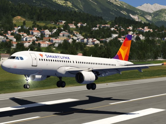 Smartlynx Airlines A320 livery