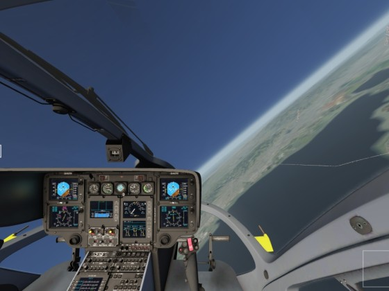 """Wow I just realized that now instead of """"Thrust"""" , its showing collective for Helicopters."""