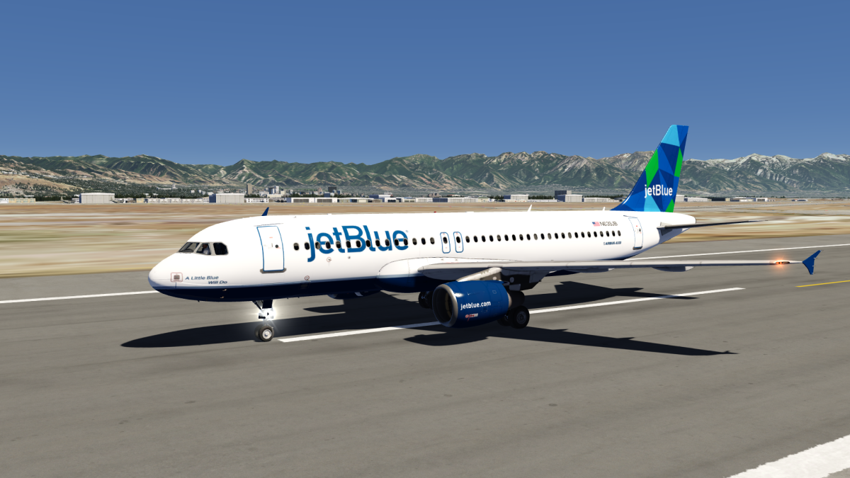 JetBlue Mint Airbus A320 Livery
