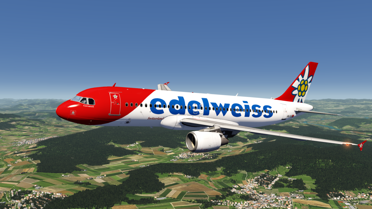 Edelweiss Airbus A320 Livery