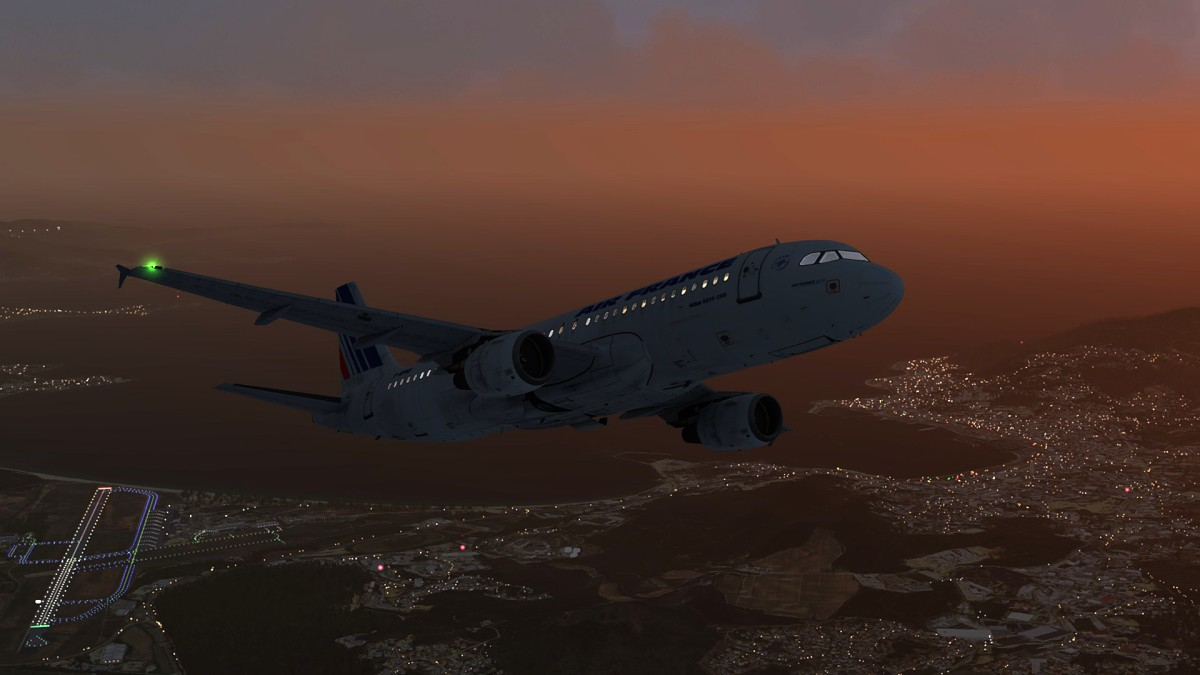 Ajaccio airport+A320 Air France_2