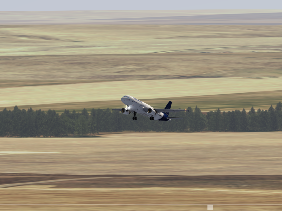 First Flight A320 Lufthansa on the 4K PC plataform.