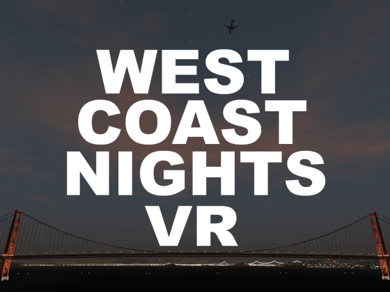 VR optimized street lights for California, Arizona, Nevada, Utah and Colorado. Download now on flight-sim.org