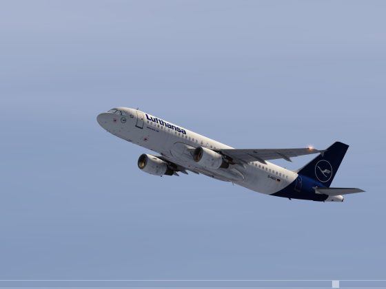 Airbus taking off to Colorado Springs