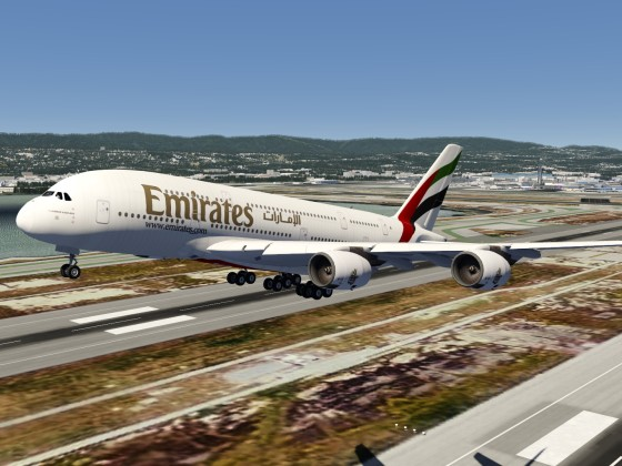Airbus A380 Coming to Aerofly FS 2 PC version