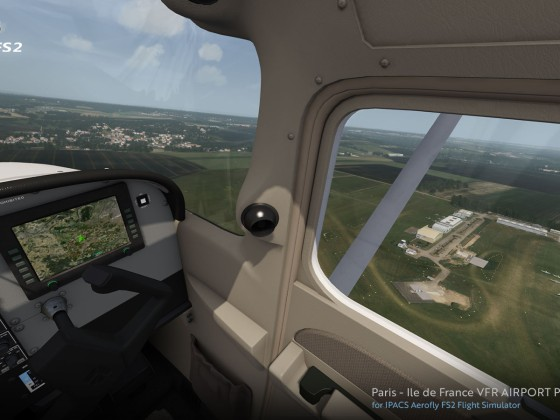 France VFR Paris - Ile de France VFR AIRPORT Pack