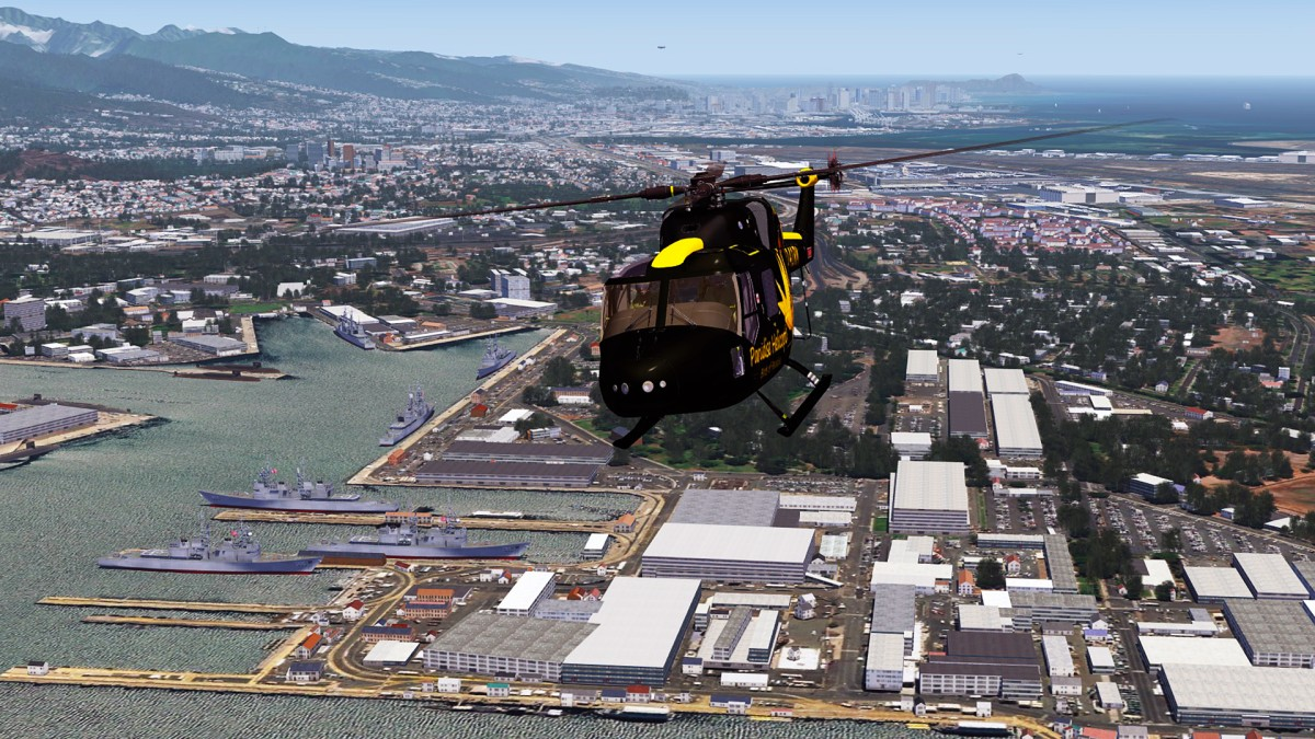 Pearl Harbor area+Heli Lynx_2