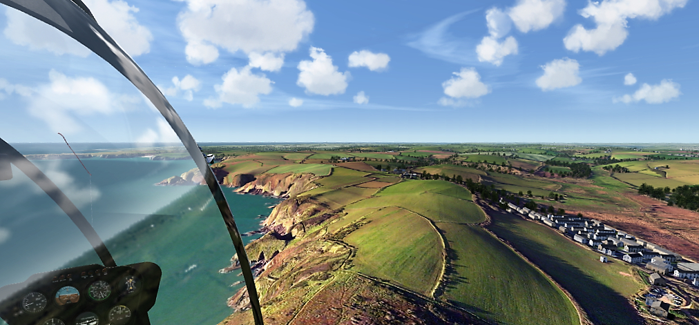 South Wales coast west of Tenby