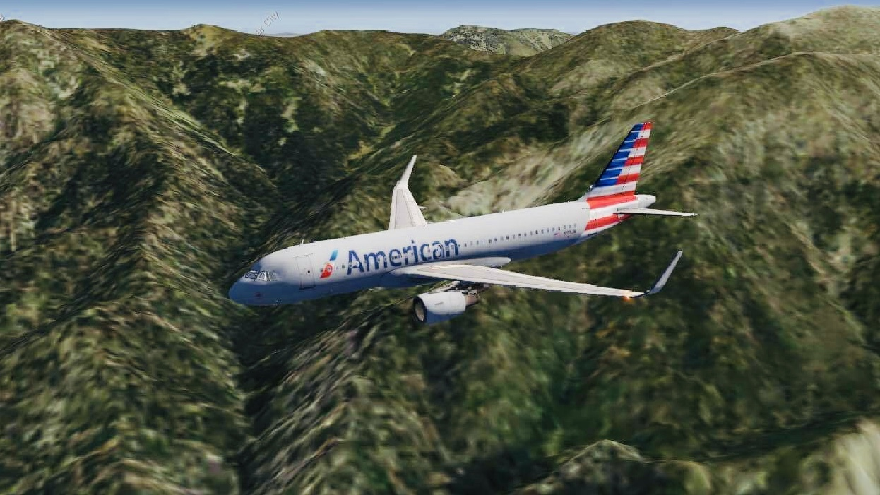 Currently nearing Ontario International Airport after an hour flight from Phoenix!