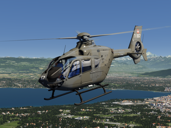 Swiss Air Force EC-135 Livery as Tomfa requested