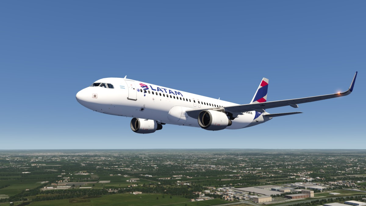 LATAM Airbus A320 Sharklets Livery