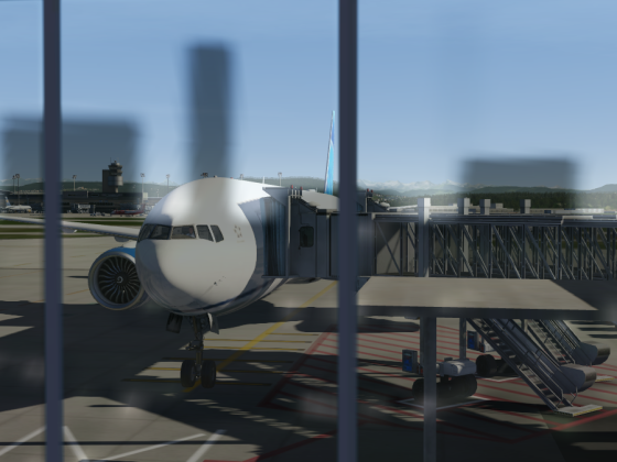 Terminal View of the 777.