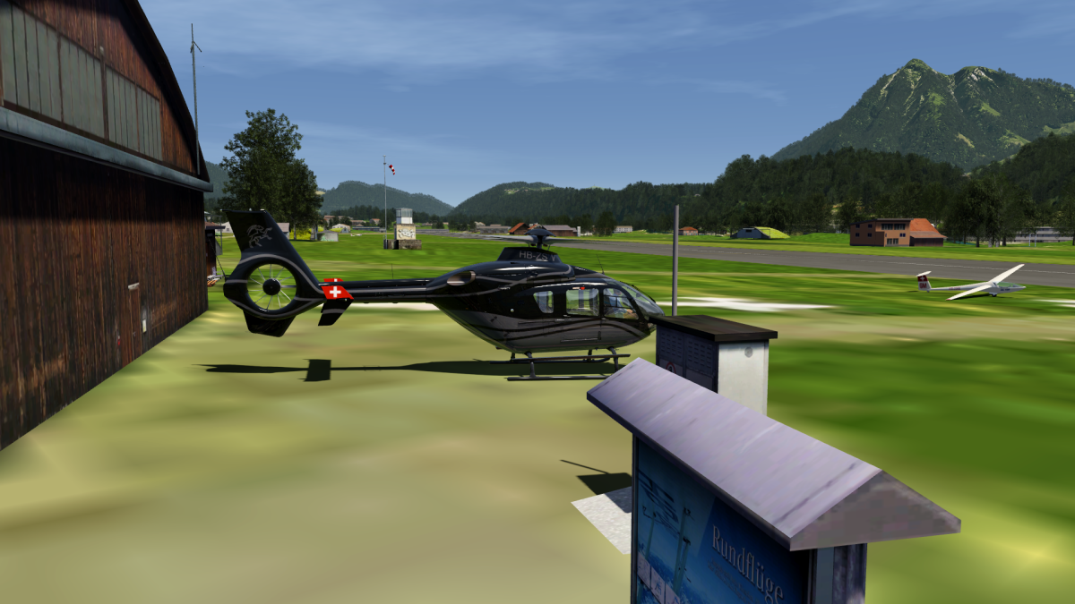 CH - Departure from LPSG Kägiswil for Mount Pilatus!