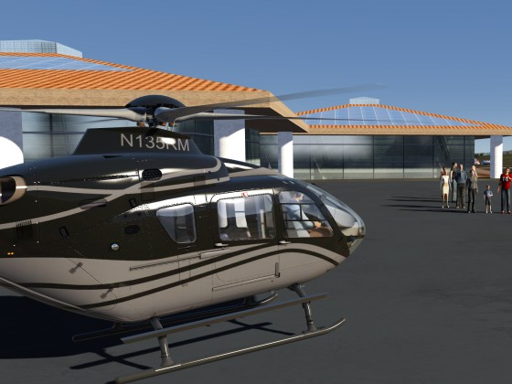 Lanai Heli is ready for Boarding
