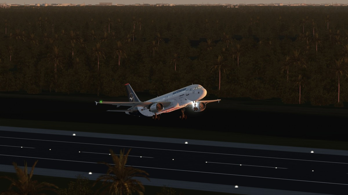 A320 Taking off from KTTS To Denver