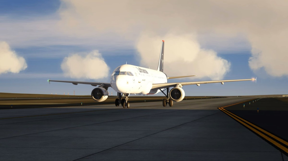 A320 Return to the Factory after complet 100 Hours of Real Flight