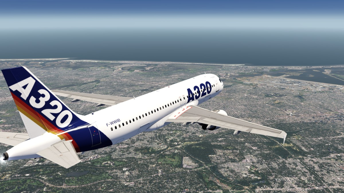 Airbus Old A320 Livery