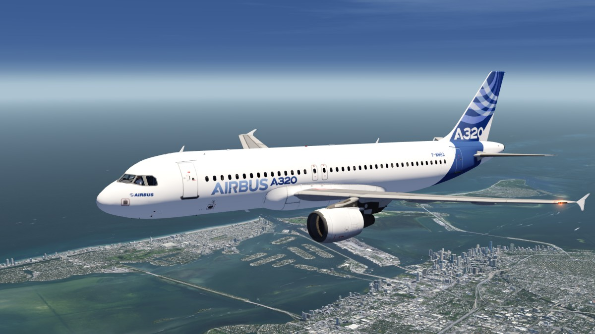 Airbus House A320 Livery
