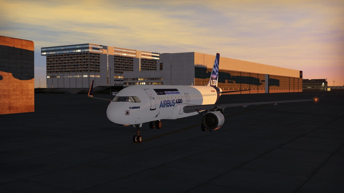 Airbus A320 Sharklets F-WWBA at the factory preparing for it's Rigorous Flight Test Campaign!