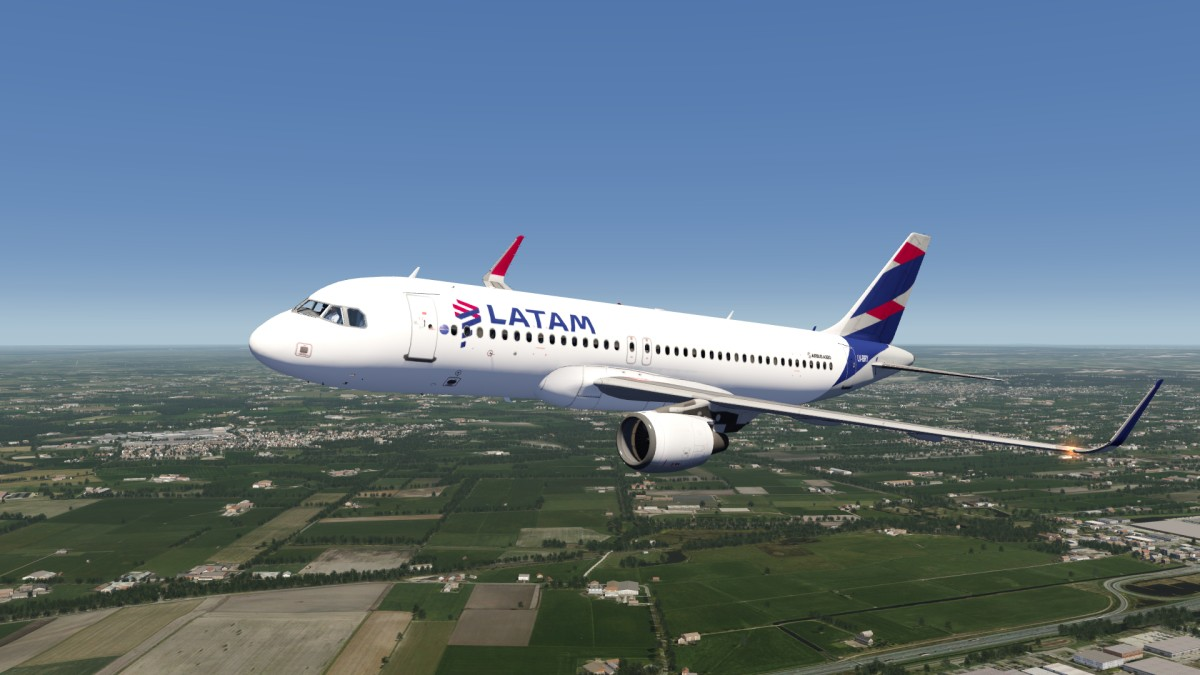 LATAM A320 Livery Now Available to Download