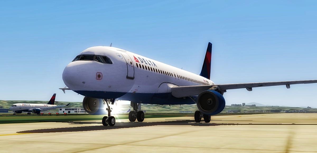A320 at SAN