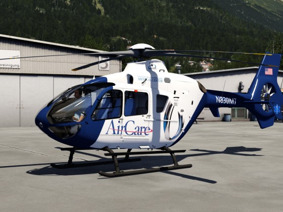 New AirCare EC 135 Livery