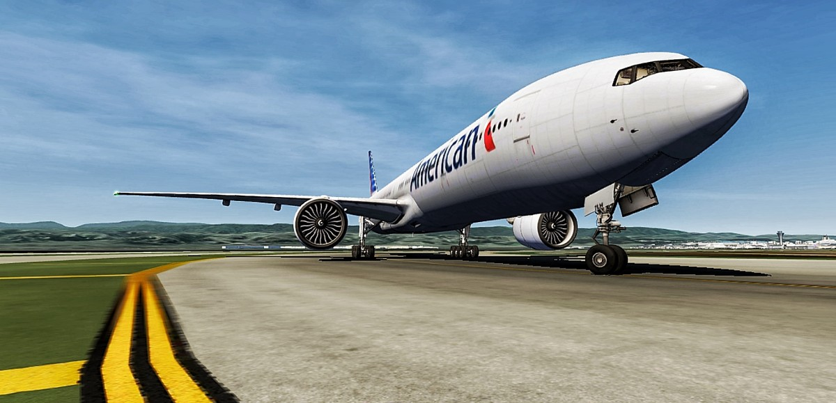American 245 , Winds 280 at 12 , Runway 28L , CLEARED FOR TAKEOFF ! 🛫